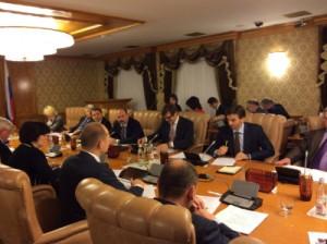 Заседание рабочей группы Экспертного совета при Правительстве РФ